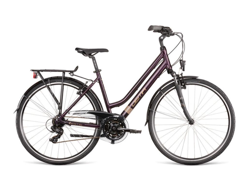 Dema Arosa Lady 1 női túra kerékpár, barna