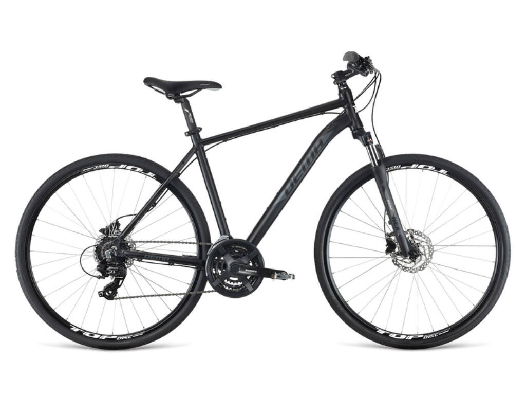 Dema AVEIRO 3.0 férfi cross kerékpár, fekete