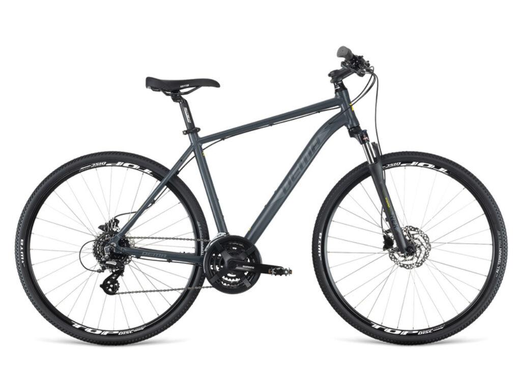 Dema AVEIRO 5.0 férfi cross kerékpár, szürke