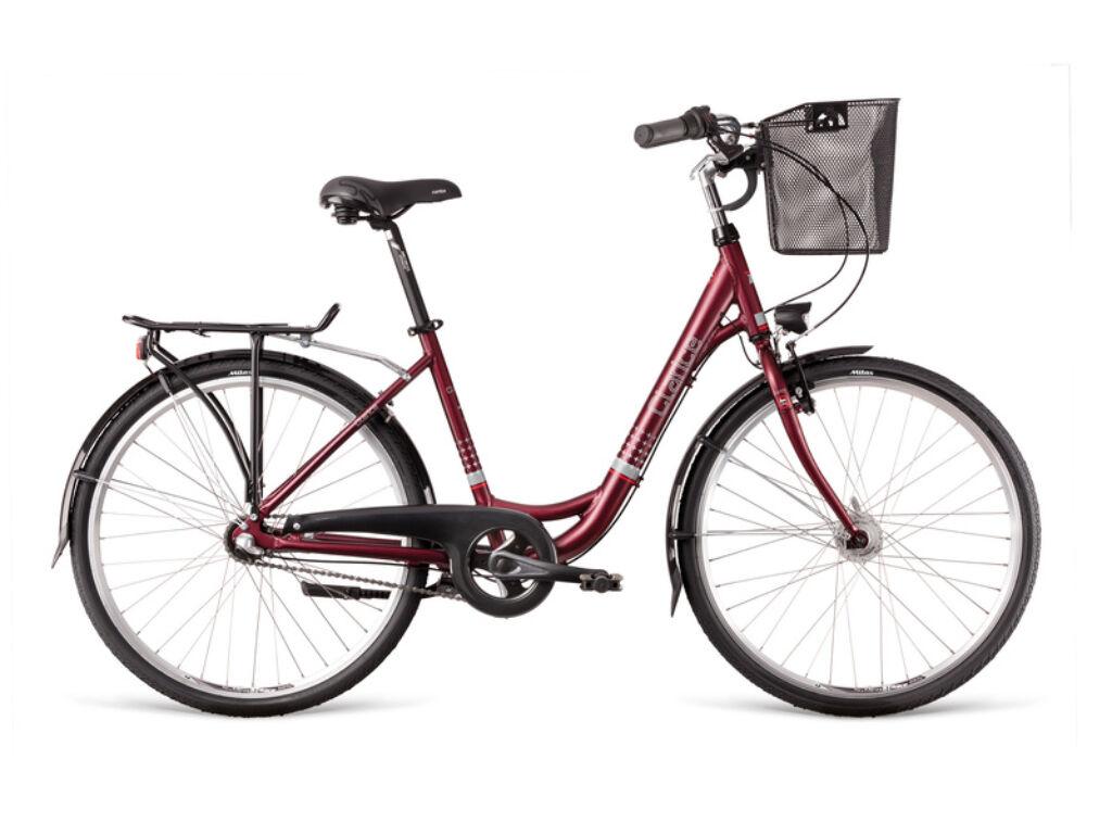 Dema CLARICE 26 3sp Dynamo Marsala női városi kerékpár, fekete