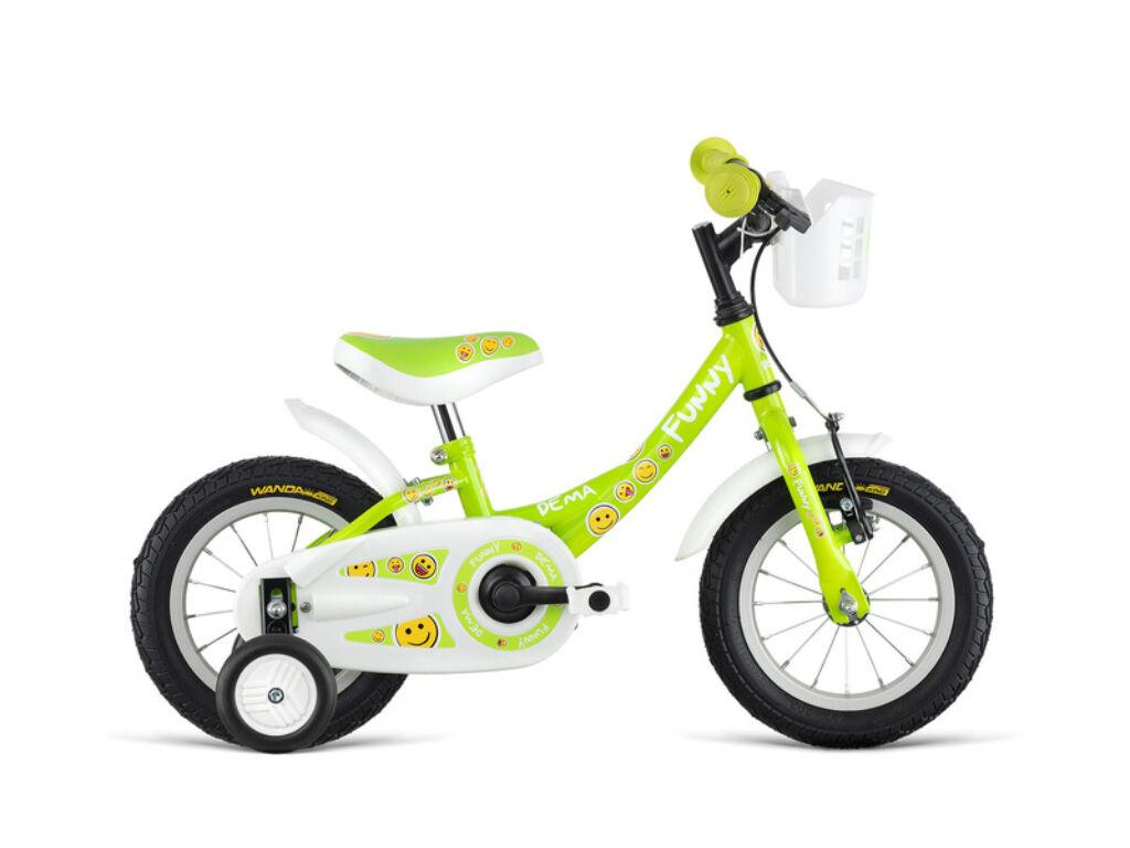 Dema FUNNY 12 gyermekkerékpár, zöld
