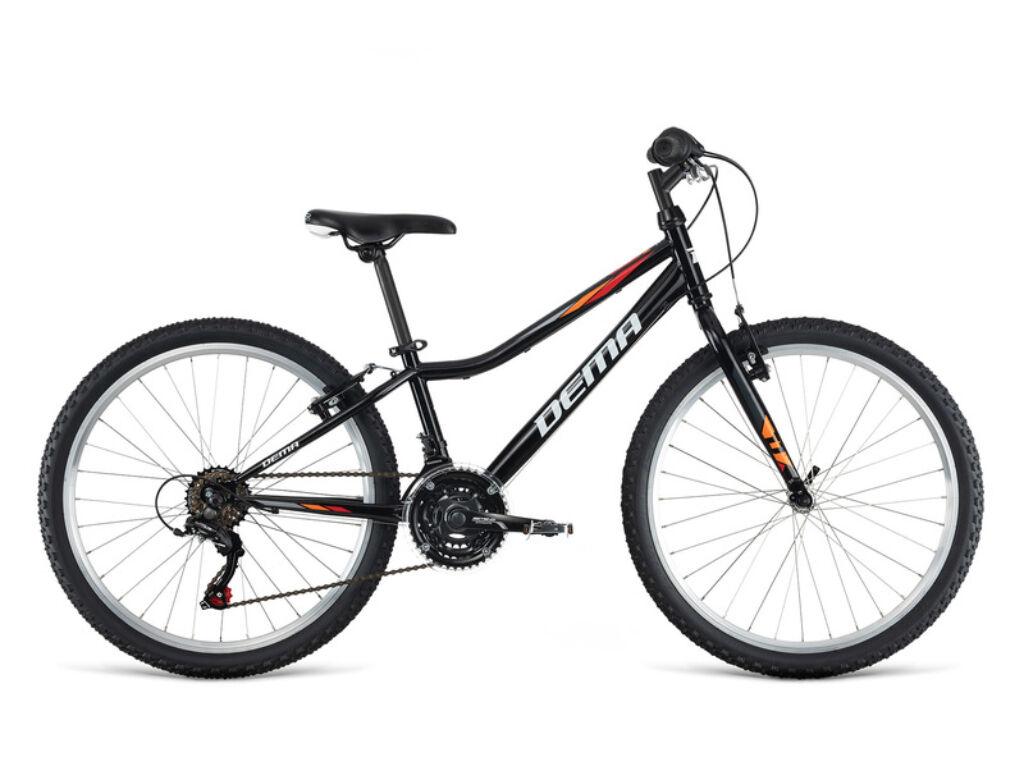 Dema ISEO 24 gyermekkerékpár, fekete