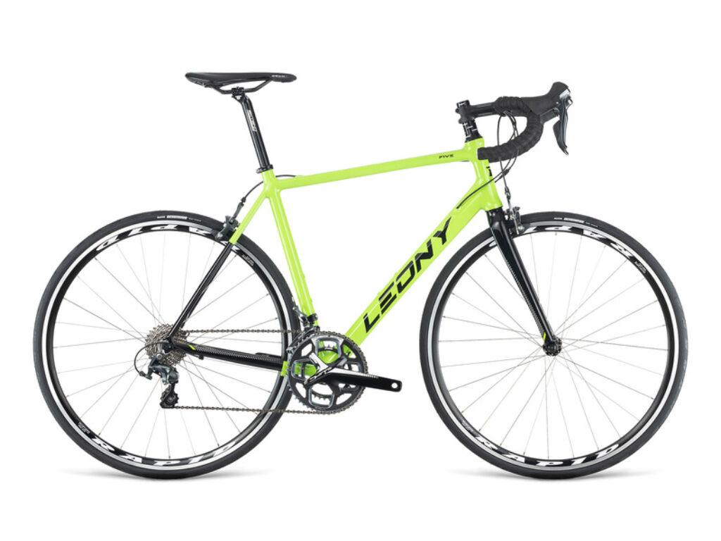 Dema LEONY 5.0 országúti kerékpár, neonzöld