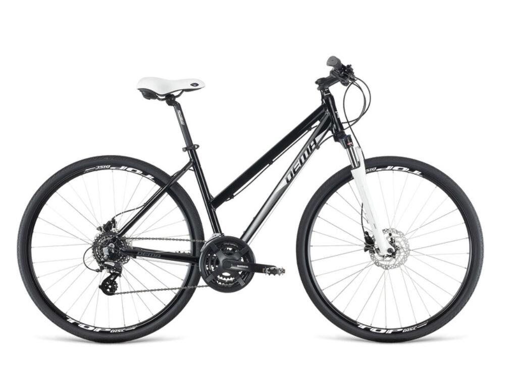 Dema LOARA 5.0 női cross kerékpár, fekete