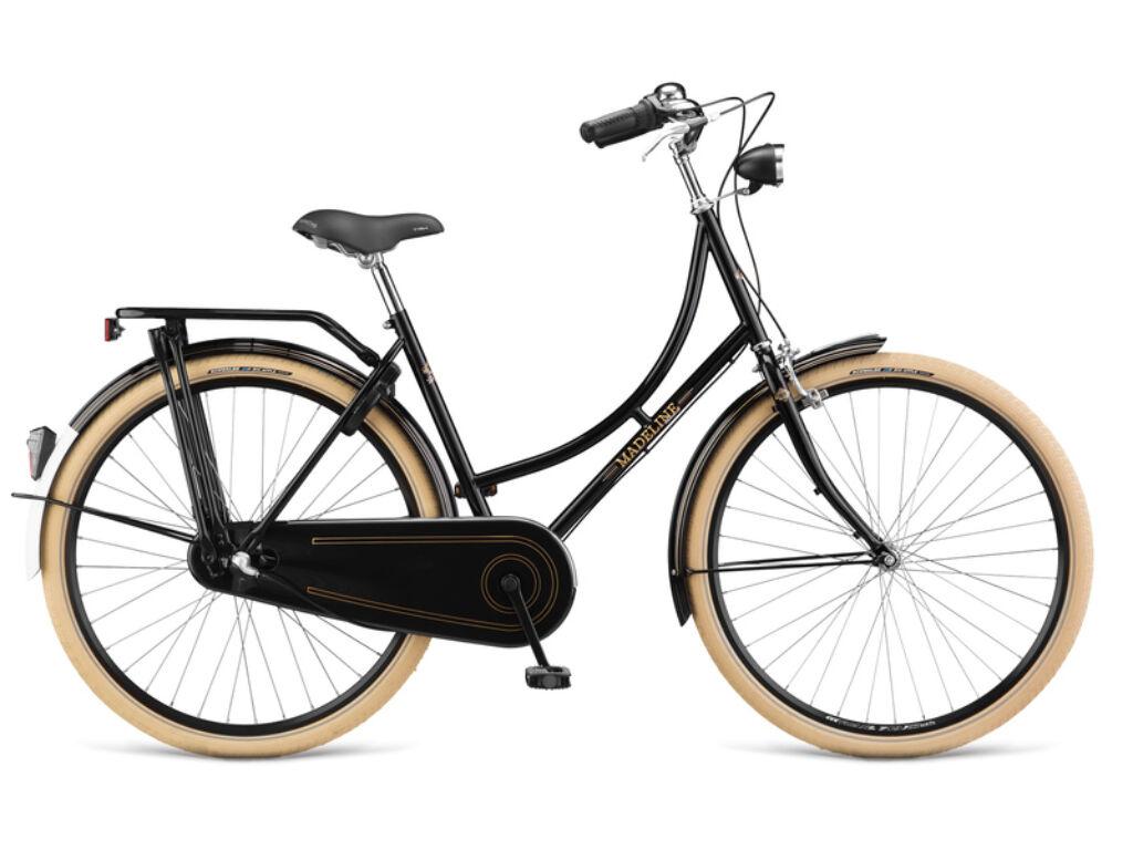 DEMA Madeline Standard N3 női városi kerékpár, fekete