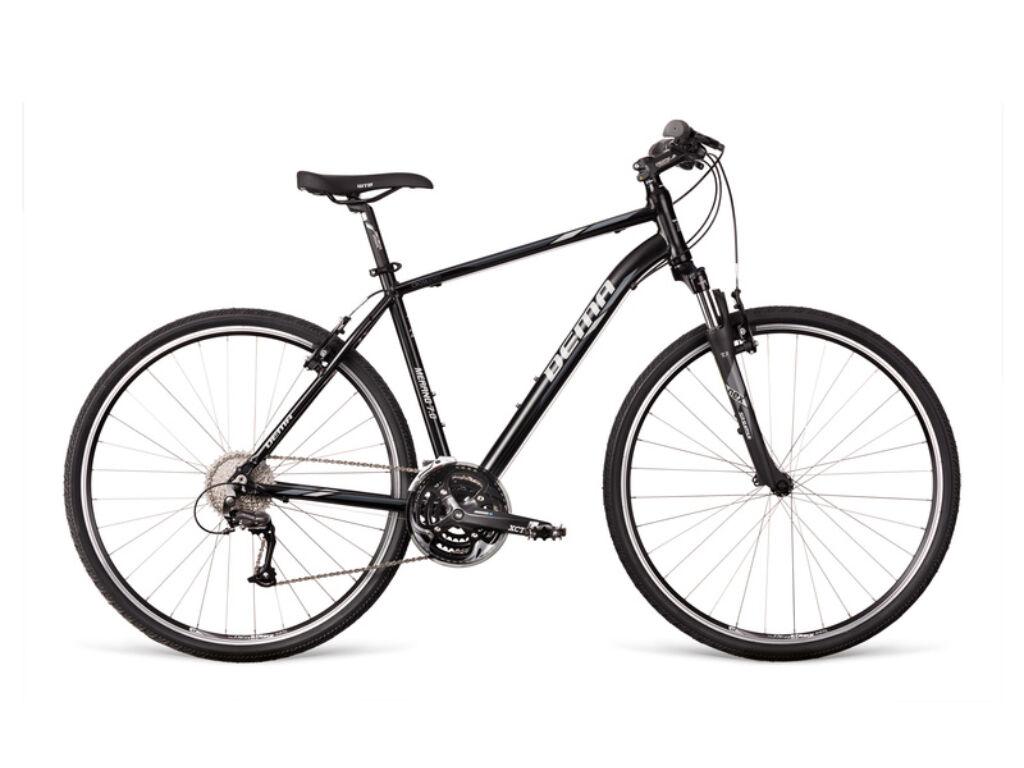 Dema MERANO 7.0 cross kerékpár, fekete / szürke