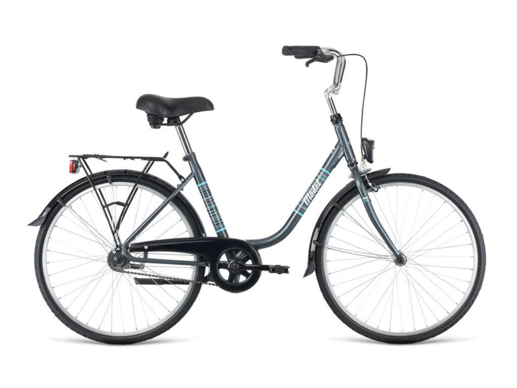 """Dema MODET 24x1 3/8"""" városi kerékpár, szürke"""