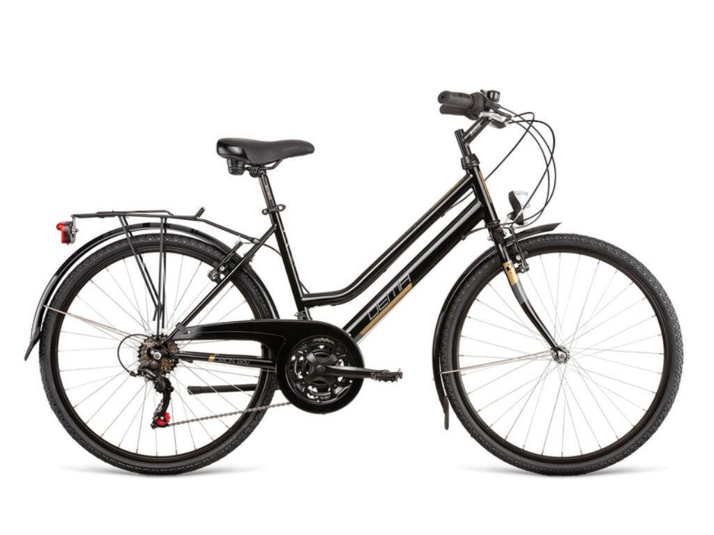 Dema ORION LADY női túra kerékpár, fekete / arany
