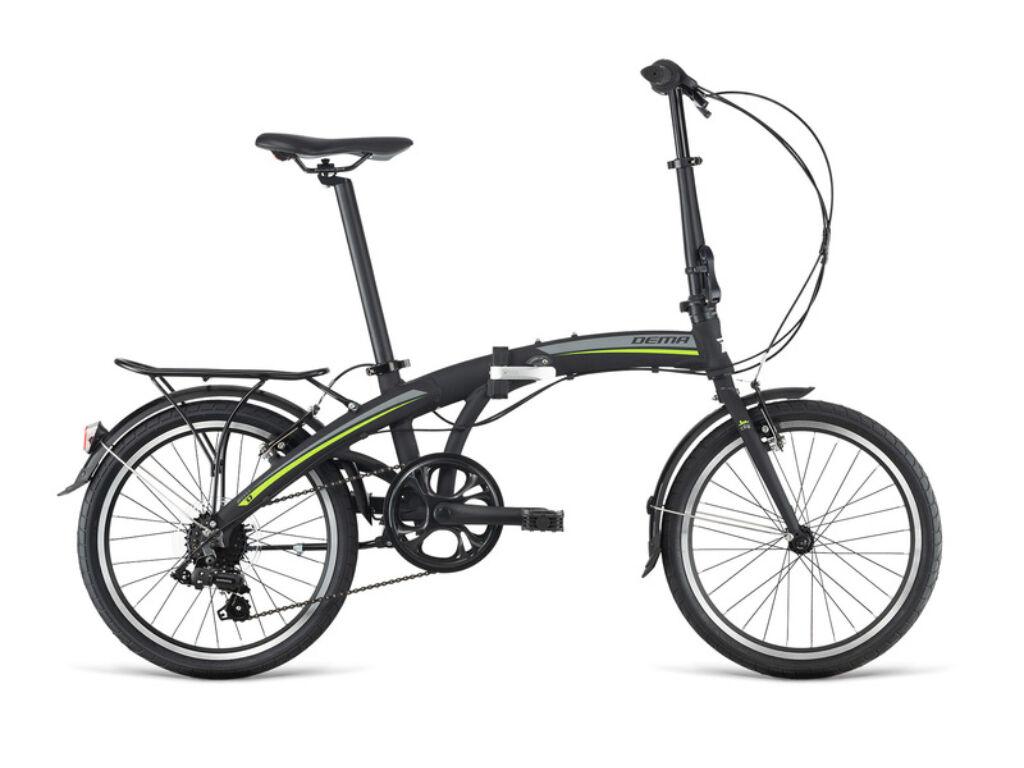 Dema OXXY F7 folding / összecsukható városi kerékpár, fekete