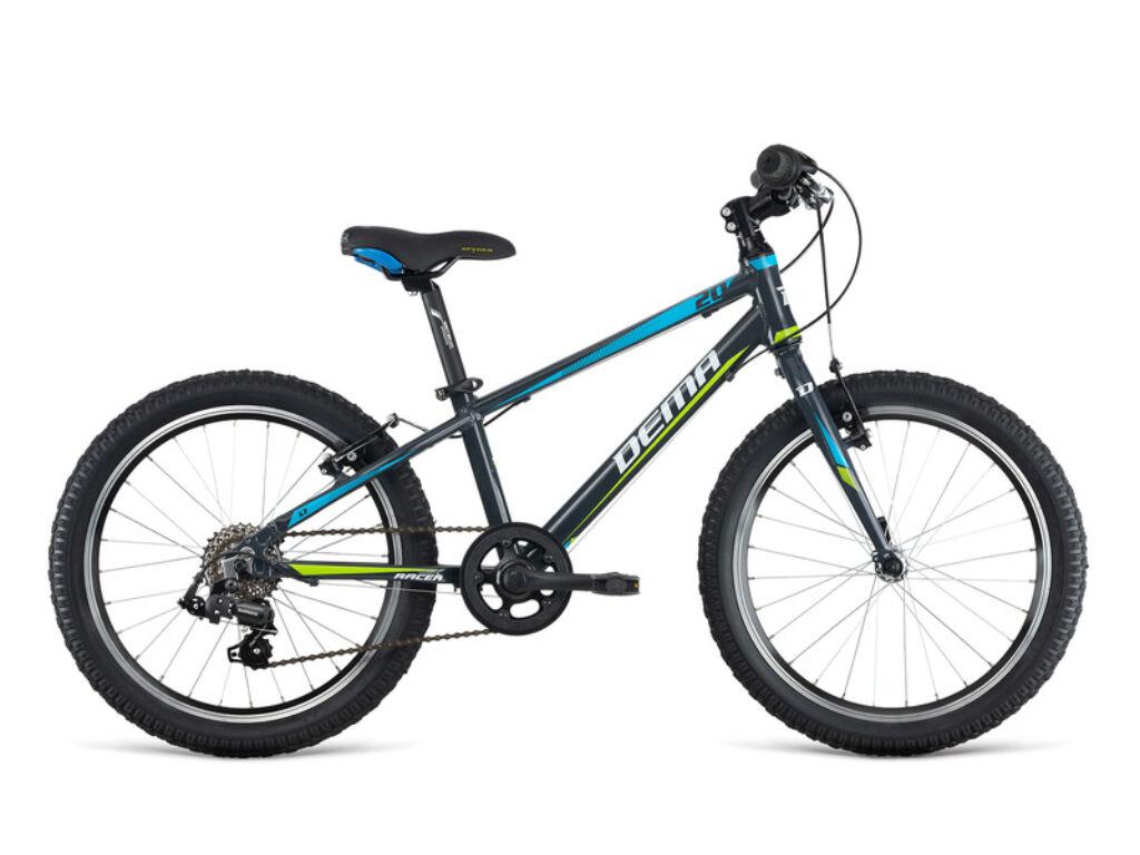 Dema RACER 20 RF gyermekkerékpár, sötétszürke
