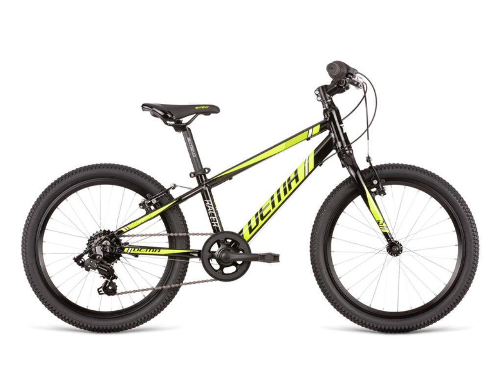 Dema RACER 20 SL gyermekkerékpár, fekete / neonsárga
