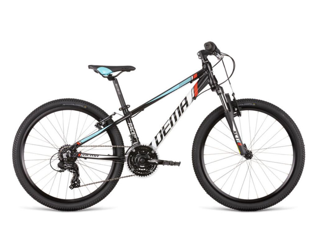 Dema RACER 24 SF gyermekkerékpár, fekete / kék