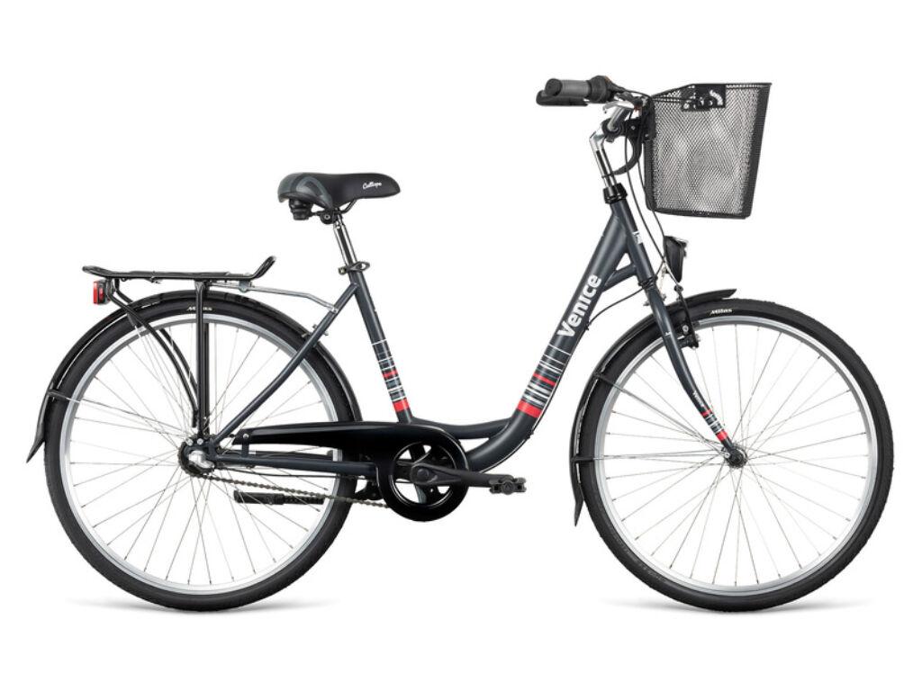 Dema VENICE 26 3sp városi kerékpár, szürke