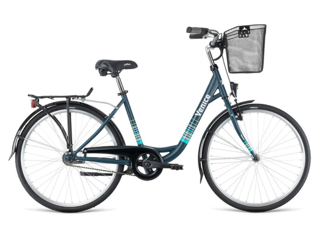 Dema VENICE 26 városi kerékpár, mélykék