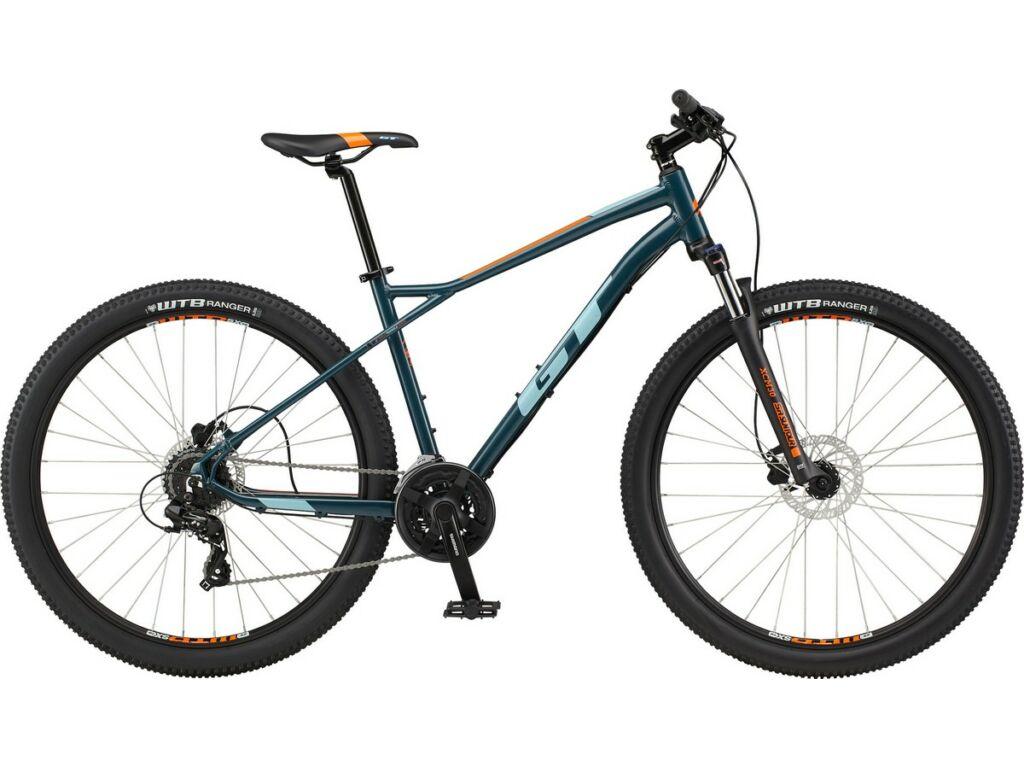 GT Aggressor Expert Shimano 2021 29col MTB hardtail kerékpár / Slate Blue