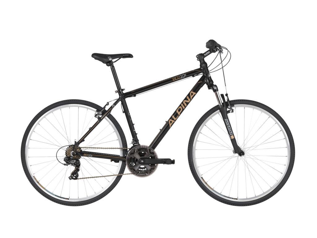 ALPINA ECO C10 cross kerékpár, fekete / arany