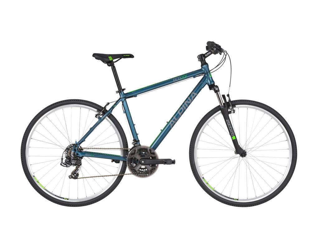ALPINA ECO C20 cross kerékpár, metálkék