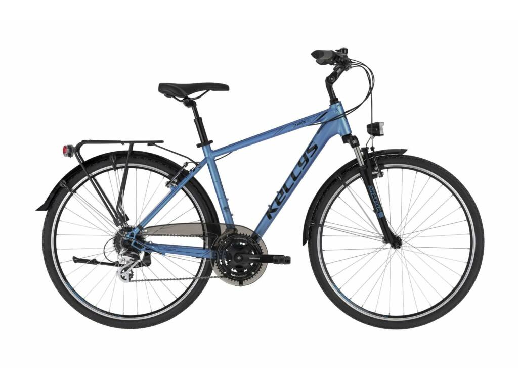 KELLYS Carson 30 trekking kerékpár, kék