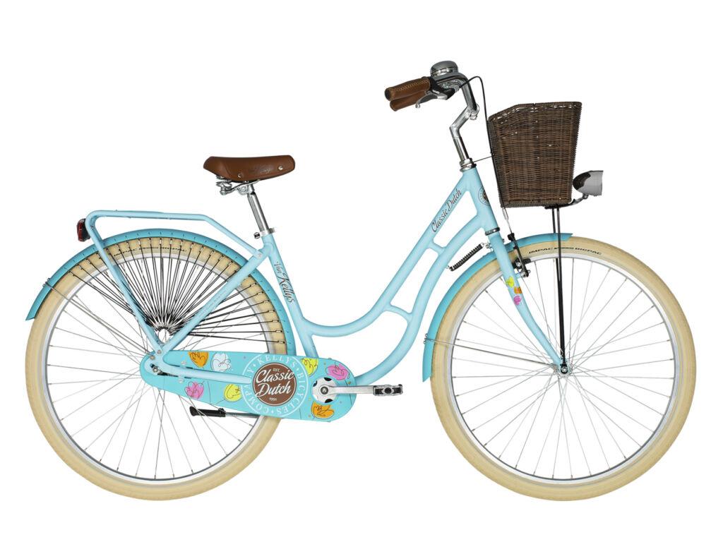"""KELLYS Classic Dutch 28"""" városi kerékpár, égkék"""