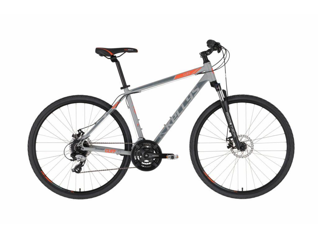 KELLYS Cliff 70 cross kerékpár, szürke / piros