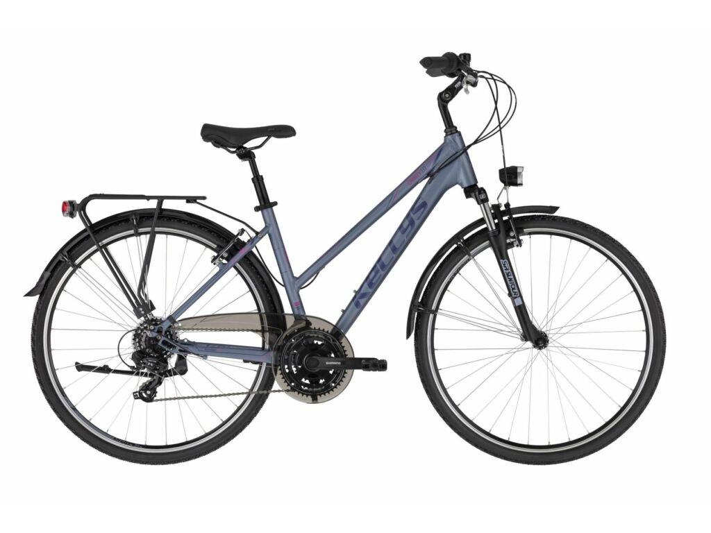 KELLYS Cristy 10 trekking kerékpár, fekete