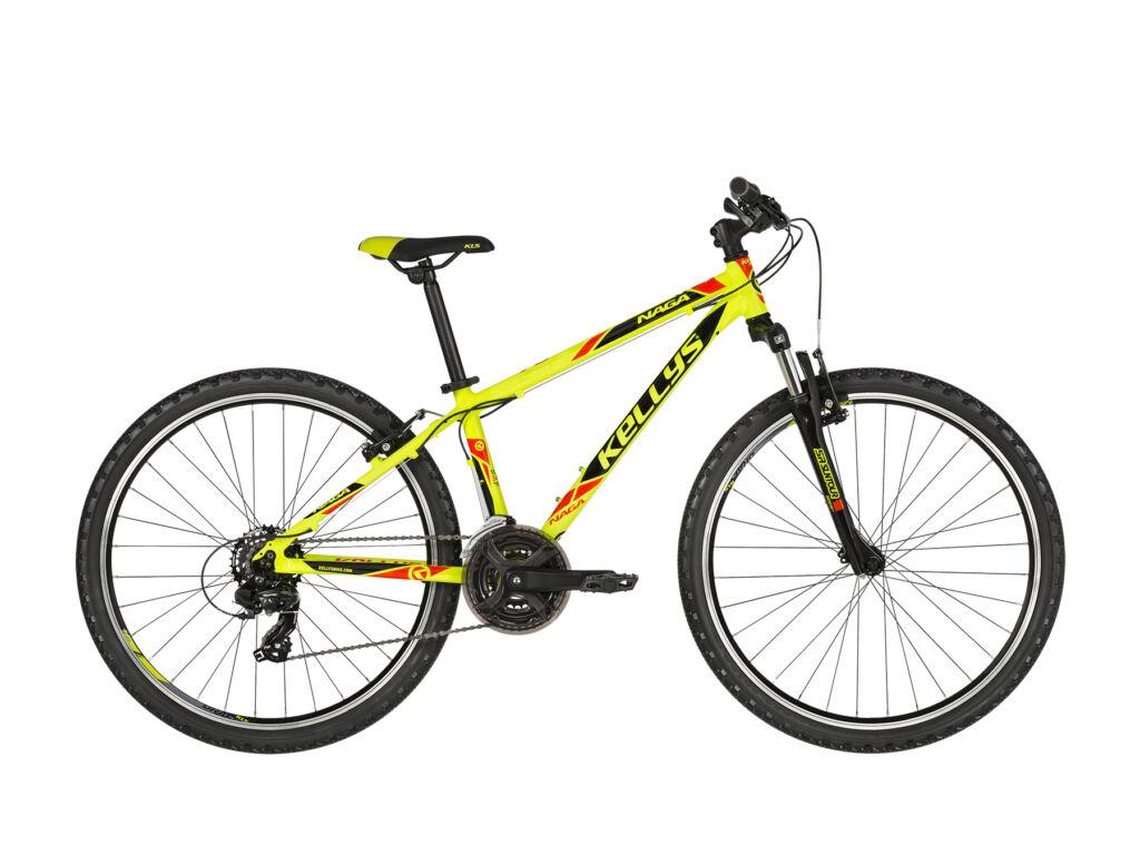 KELLYS NAGA 70 13.5 gyermekkerékpár, neonzöld