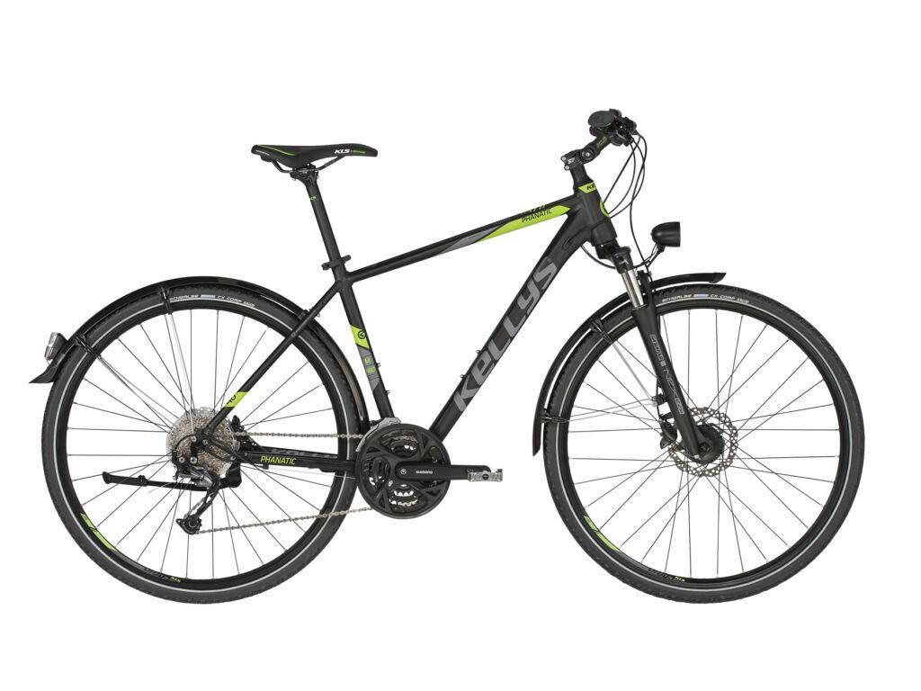KELLYS Phanatic 40 cross kerékpár, fekete /neonzöld