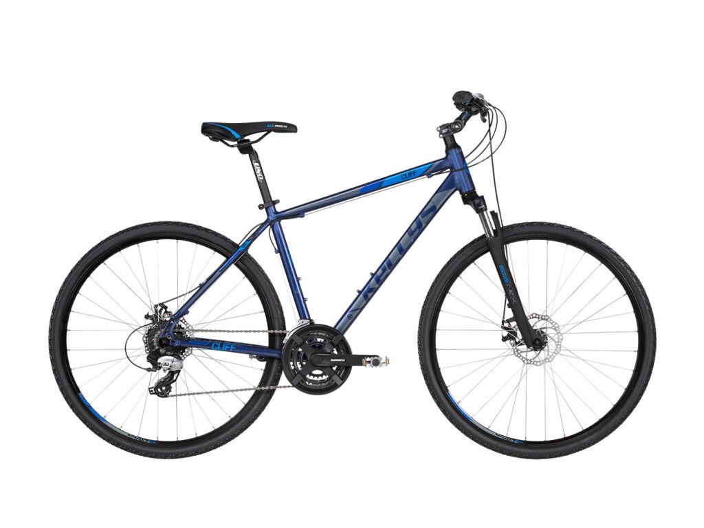KELLYS Cliff 70 cross kerékpár, sötétkék