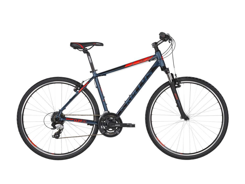 KELLYS Cliff 30 cross kerékpár, kék / piros