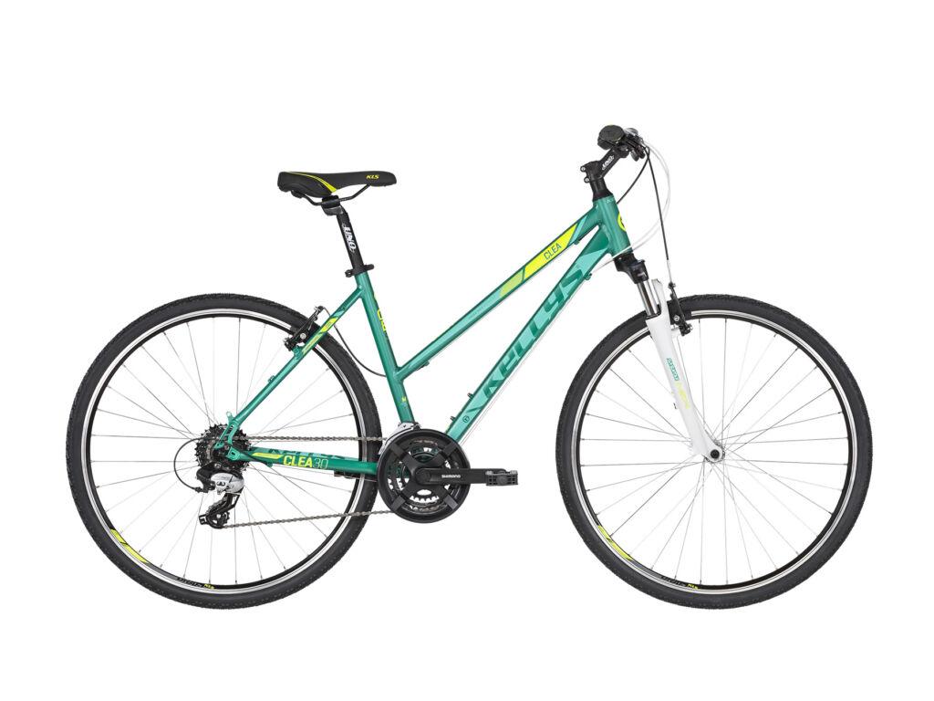 KELLYS Clea 30 cross kerékpár, türkizkék