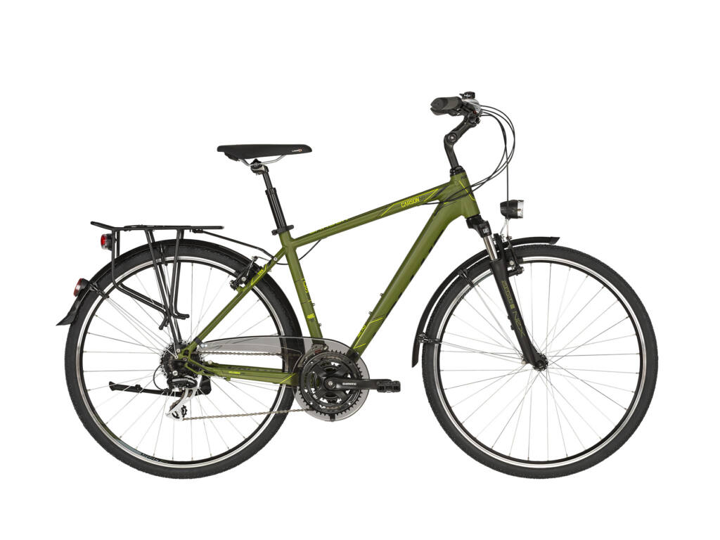 KELLYS Carson 50 trekking kerékpár, kekizöld