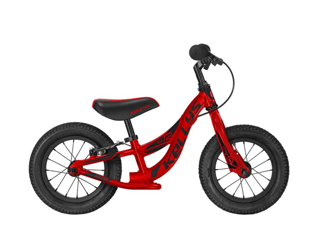 KELLYS KITE 12 RACE gyermek futókerékpár, piros