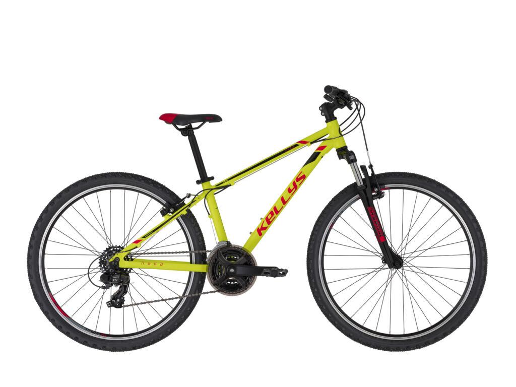 """KELLYS NAGA 70 13.5 (26"""") gyermekkerékpár, neonzöld"""