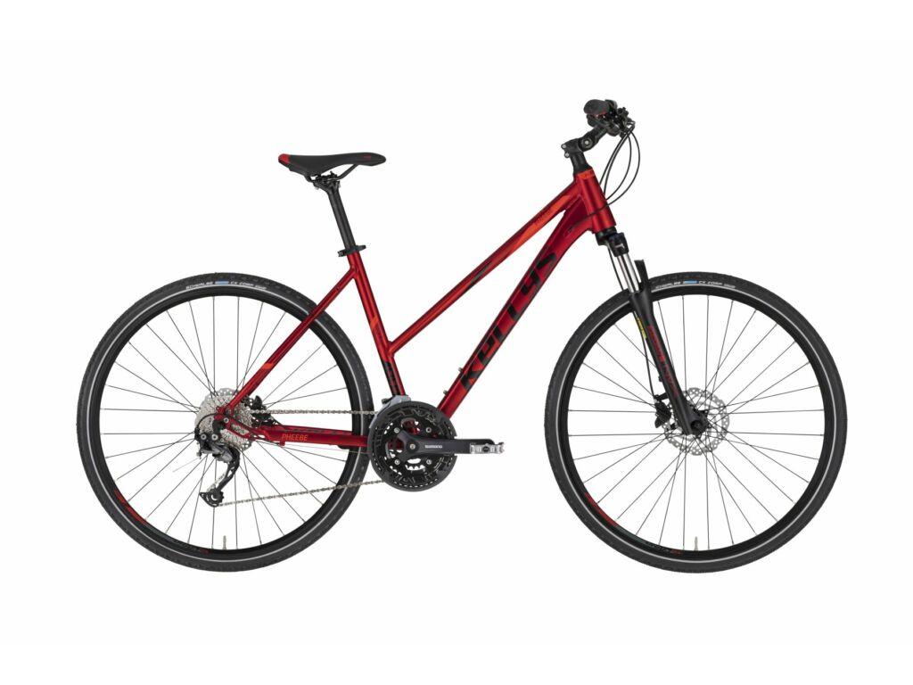 KELLYS Pheebe 30 cross kerékpár, sötétpiros