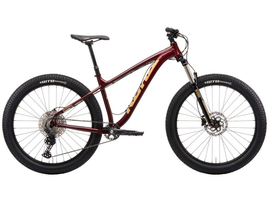 """KONA Big Honzo 2021 27.5"""" MTB hardtail kerékpár, Gloss Metallic Pinot Noir"""