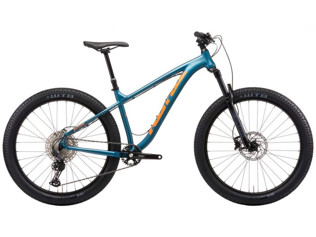 "KONA Big Honzo DL 2021 27.5"" MTB hardtail kerékpár, Gloss Metallic Emerald Green"