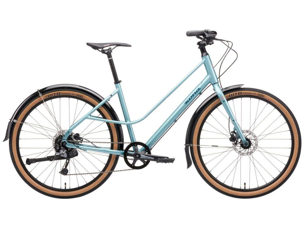 KONA Coco 2021 női városi kerékpár, Gloss Metallic Dour Mint