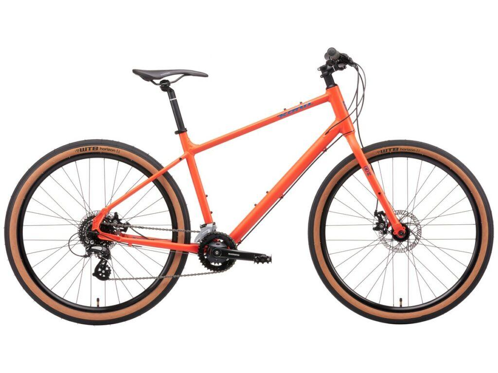 KONA Dew 2021 városi kerékpár, Matte Blood Orange