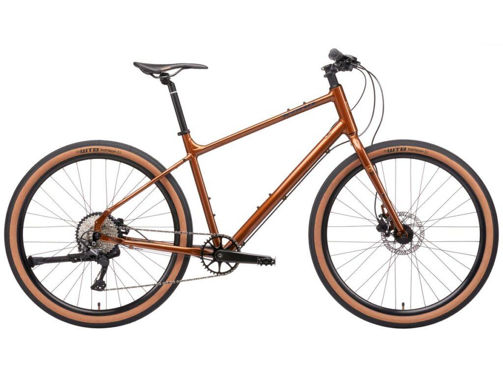 KONA Dew Plus 2021 városi kerékpár, Root Beer