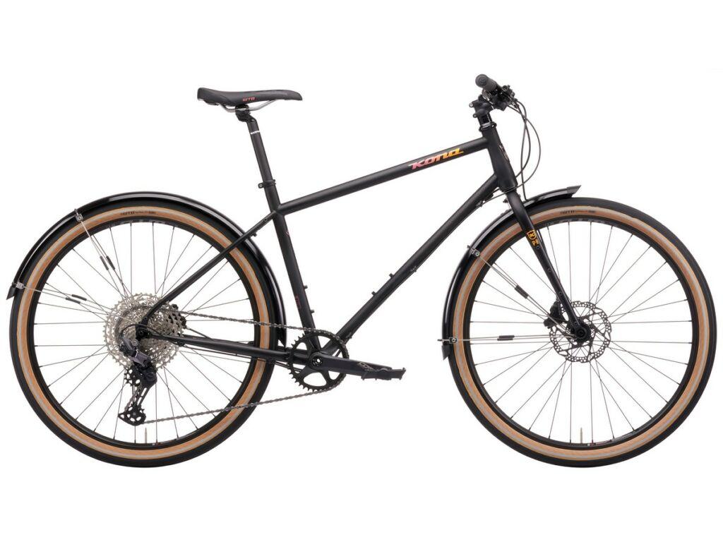 KONA Dr Dew 2021 városi kerékpár, Matte Black