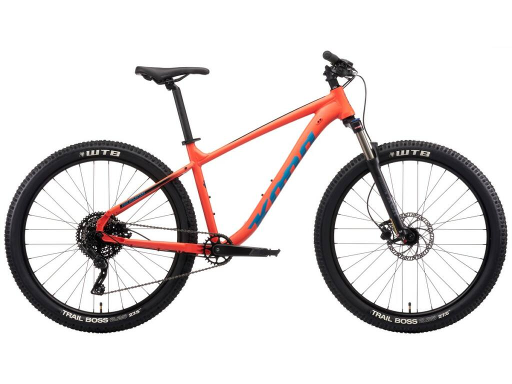 "KONA Fire Mountain 2021 26"" MTB hardtail kerékpár, Matte Blood Orange"