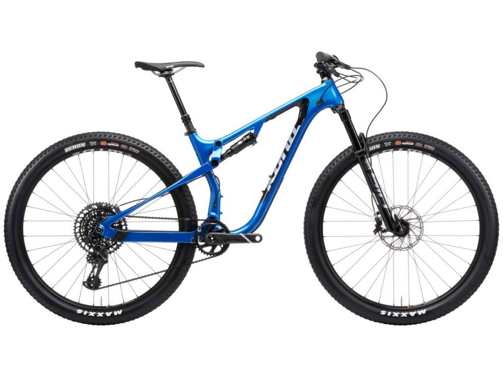 "KONA Hei Hei CR/DL 2021 29"" MTB XC kerékpár, Gloss Metallic Alpine Blue"