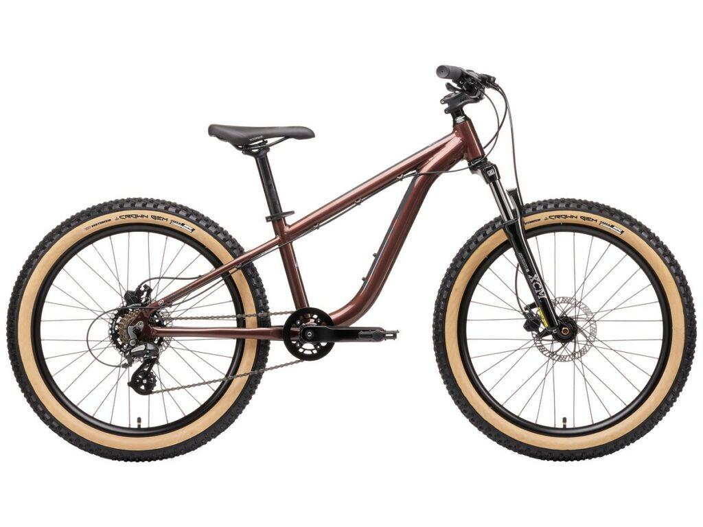 """KONA Honzo 24 2020 24"""" gyermek MTB hardtail kerékpár, Gloss Prism Rust-Purple"""