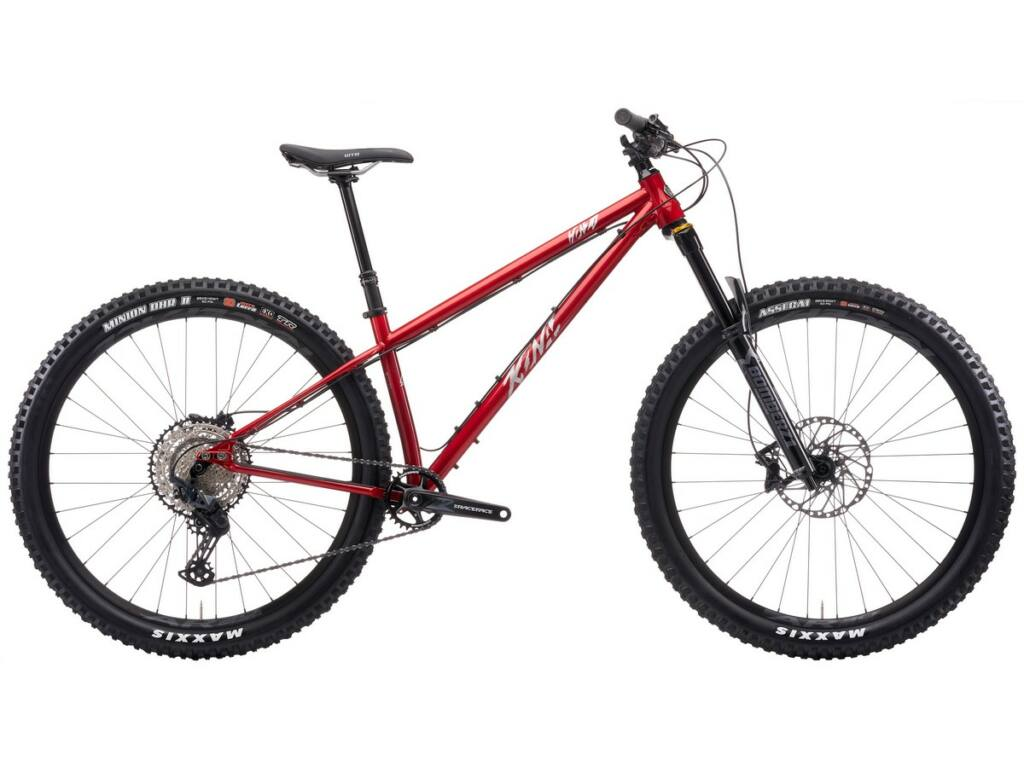 "KONA Honzo ESD 2021 29"" MTB hardtail kerékpár, Gloss Metallic Red"