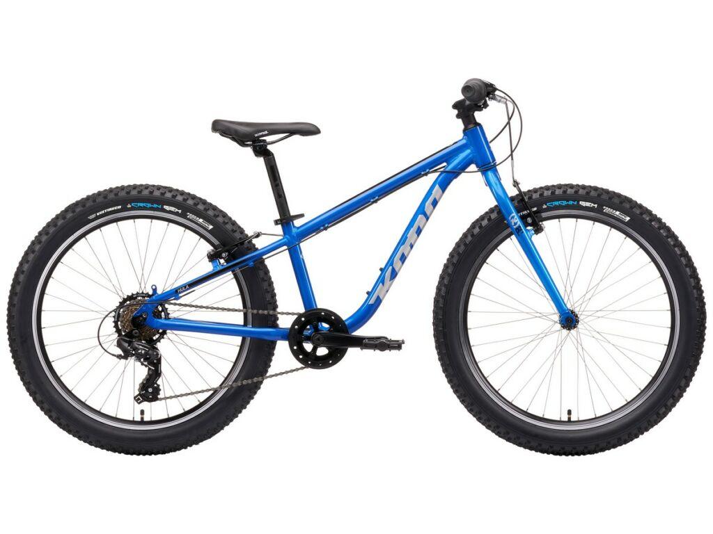 """KONA Hula 2021 24"""" gyermek MTB kerékpár, Gloss Metallic Alpine Blue"""