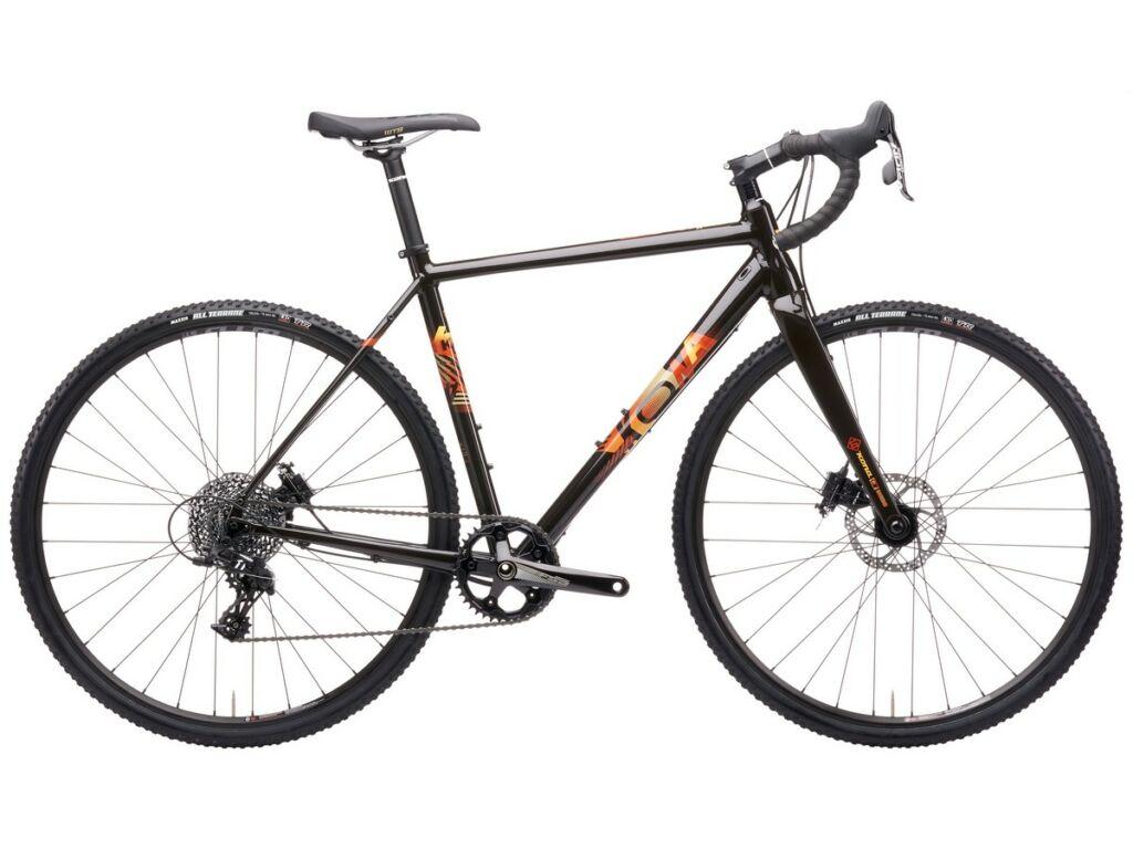 KONA Jake the Snake 2021 cyclocross kerékpár, Gloss Chocolate