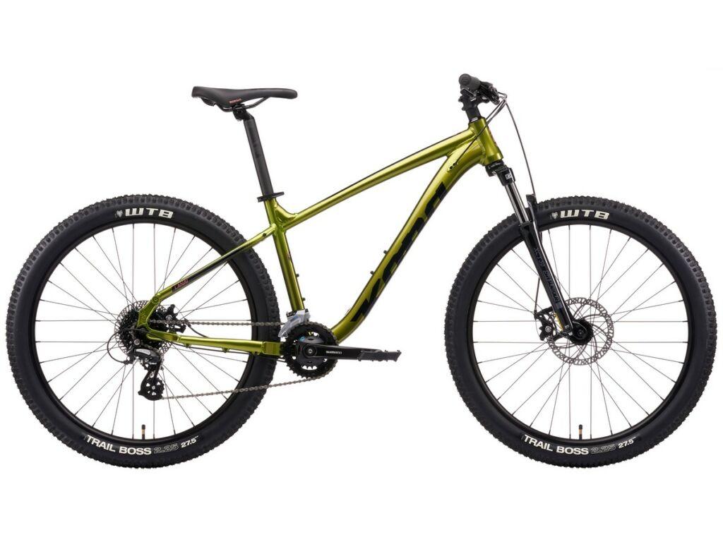 KONA Lana'i 2021 MTB hardtail kerékpár, Gloss Metallic Olive