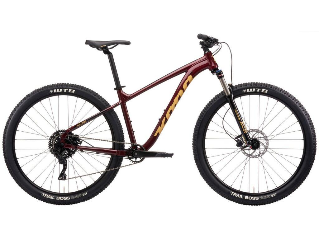 "KONA Lava Dome 2021 29"" MTB hardtail kerékpár, Gloss Pinot Noir"