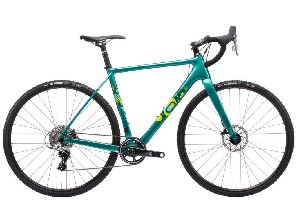 KONA Major Jake 2021 cyclocross kerékpár, Gloss Metallic Green
