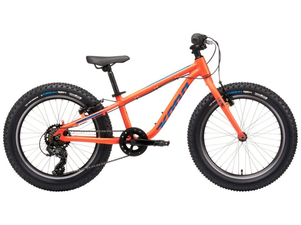 KONA Makena 2021 20'' gyermek MTB kerékpár, Matte Blood Orange